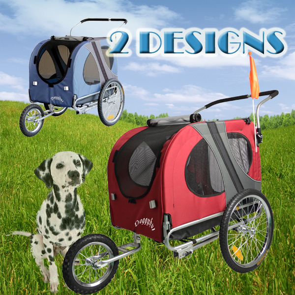 Doggyhut Large Dog Bike Trailer Pet Jogger Stroller