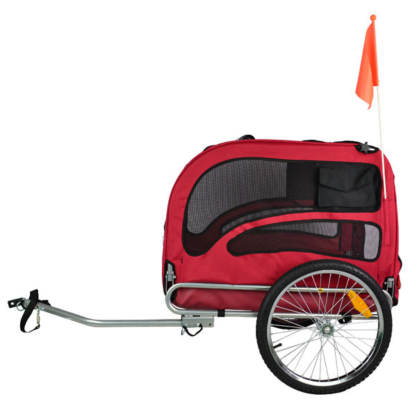 original doggyhut large dog bike trailer pet bicycle. Black Bedroom Furniture Sets. Home Design Ideas