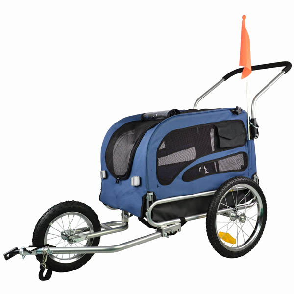 doggyhut medium pet bike trailer jogger kit dog bicycle. Black Bedroom Furniture Sets. Home Design Ideas