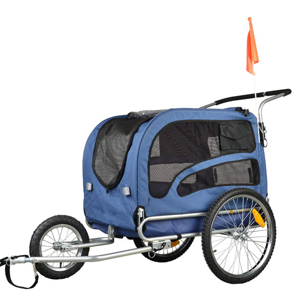 doggyhut large pet bike trailer jogger kit dog bicycle. Black Bedroom Furniture Sets. Home Design Ideas