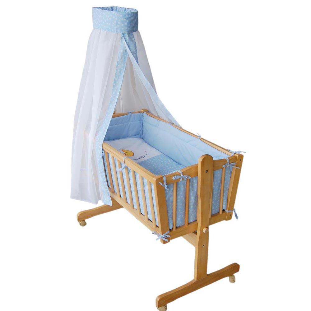 baby swinging crib infant cradle bed co sleeper free bedding set foam mattress ebay. Black Bedroom Furniture Sets. Home Design Ideas