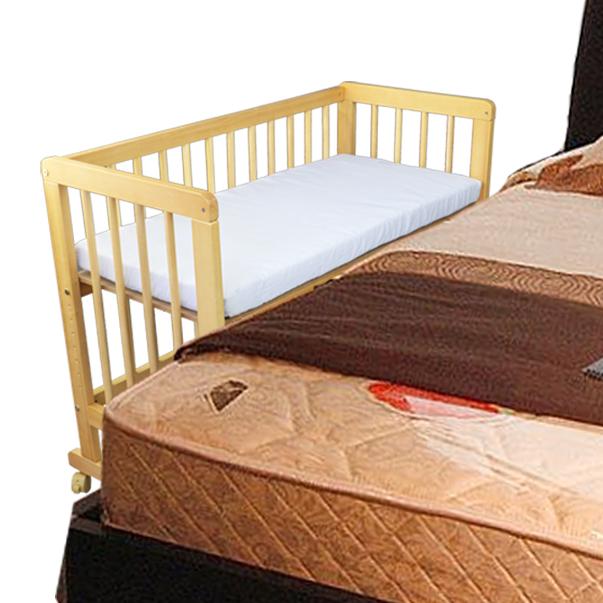 baby kinder beistellbett 2 in 1 kinderbett stubenwagen babybett babywiege gelb ebay. Black Bedroom Furniture Sets. Home Design Ideas