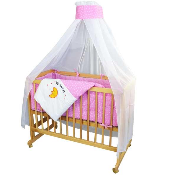 Baby-Kinder-Beistellbett-2-in-1-Kinderbett-Stubenwagen-Babybett
