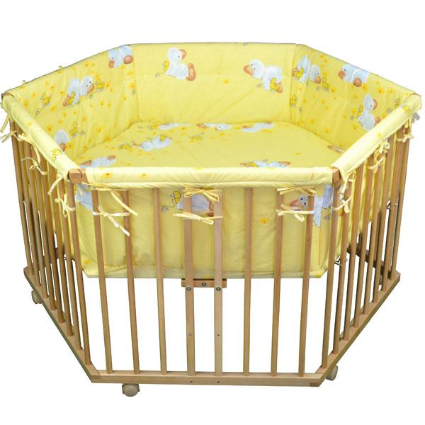 6 eckig baby laufgitter kinder laufstall laufgitter h henverstellbar neu ovp eur 46 49. Black Bedroom Furniture Sets. Home Design Ideas