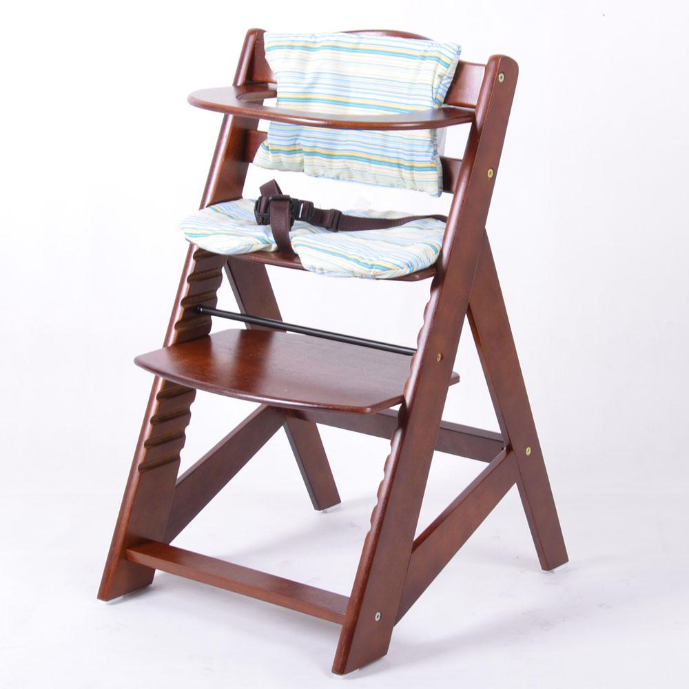 treppenhochstuhl kinderhochstuhl babystuhl babyhochstuhl kinderstuhl braun ebay. Black Bedroom Furniture Sets. Home Design Ideas